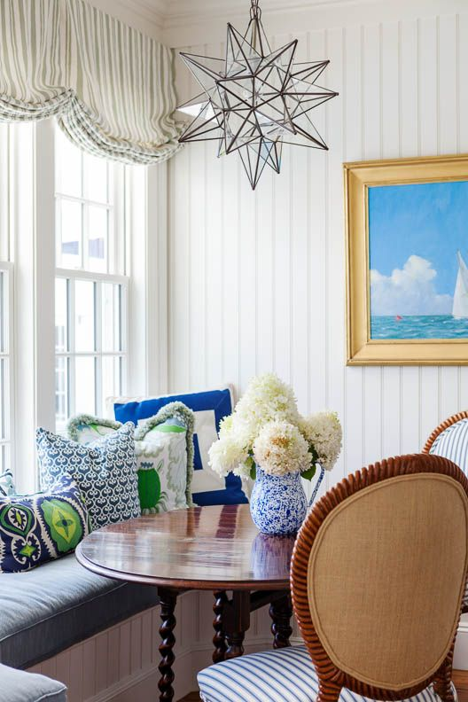 Browse the images of award winning Coastal New England Harbor House, a historically inspired New England style home located in historic Edgartown, Martha's Vineyard
