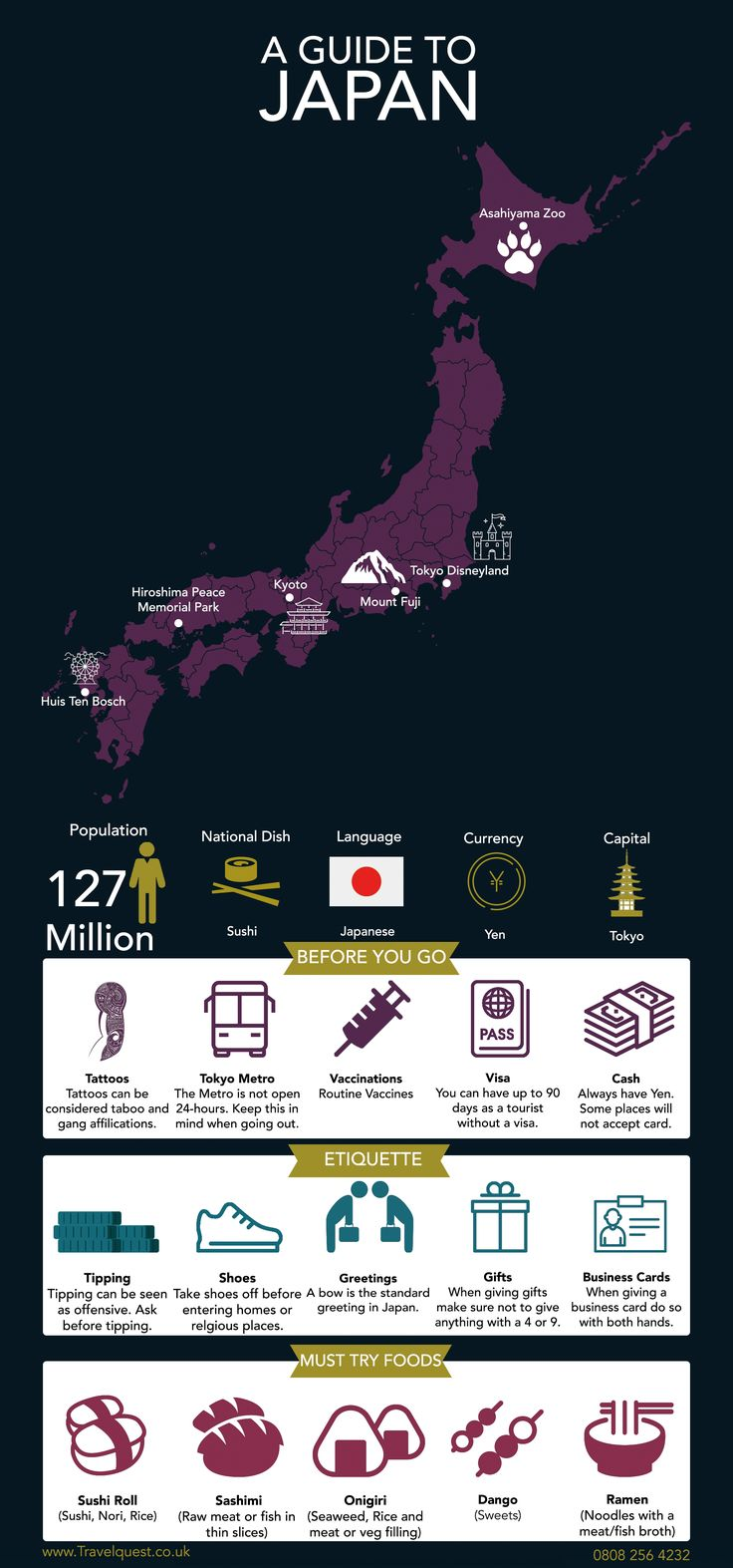 See a guide to Japan, with all of the essential in…
