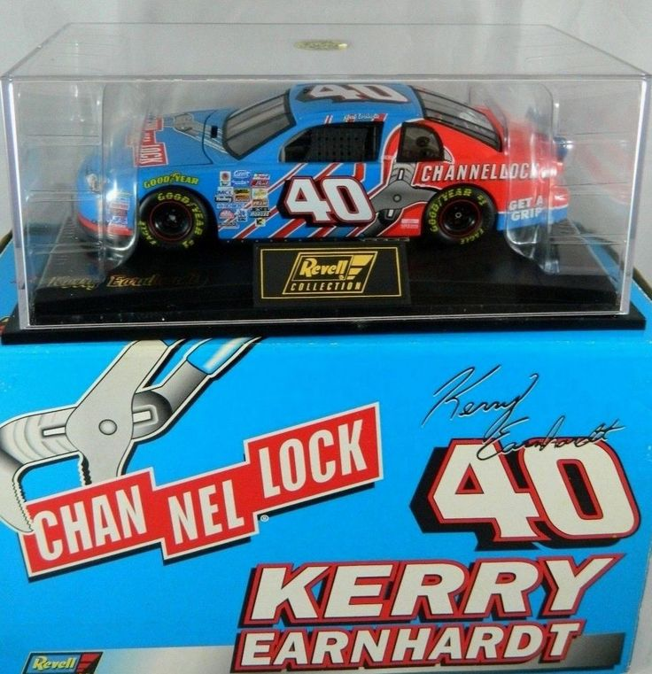 Revell Kerry Earnhardt 1999 Channellock 40 Chevy Monte Carlo 1:24 NASCAR Diecast #RevellCollection #MarcisAutoRacing