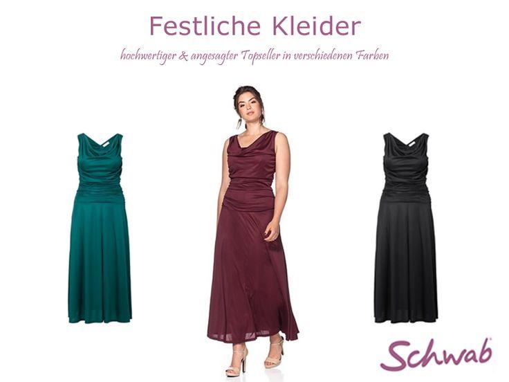 Hochwertige Abendmode, wie z.B. #festliche #Kleider, bei Schwab.