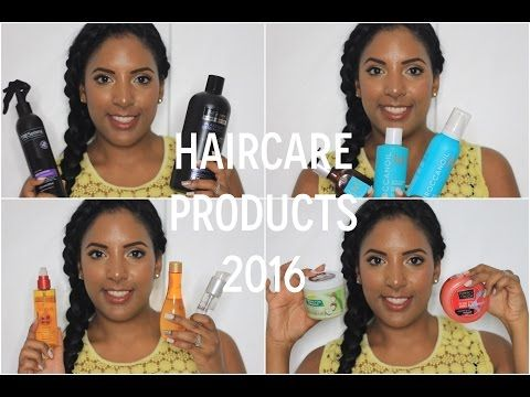 My Haircare Products 2016 | Canvas Fashions - South African Beauty Blogger - YouTube