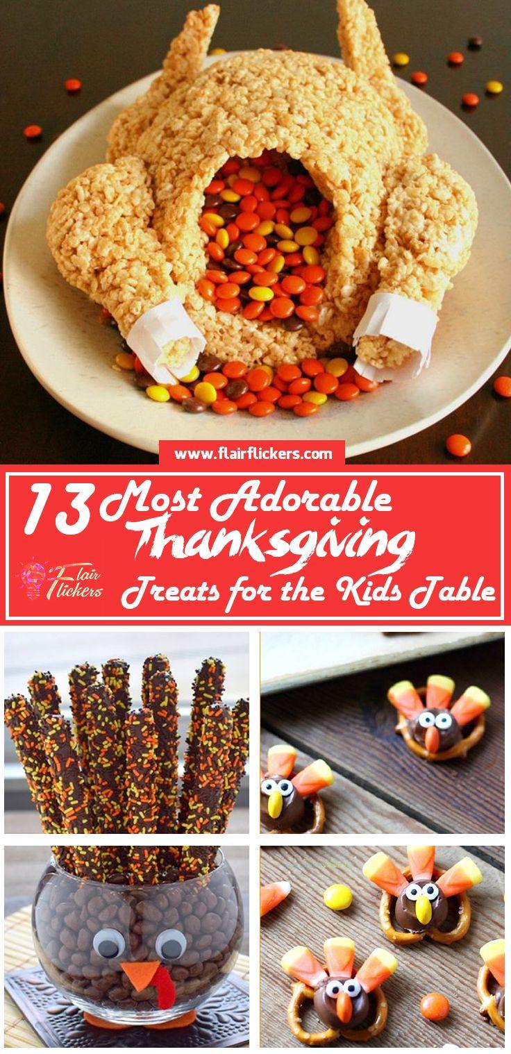 13 Adorable Thanksgiving-Leckereien für den Kindertisch