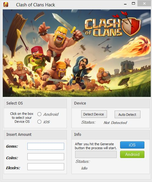 http://www.onllines.com/clash-of-clans-tip-android-and-ios-free-gems-2015/  Clash of Clans Tip (Android and iOS) Free Gems 2015  Clash of Clans Tip (Android and iOS) Free Gems 2015 could be a fighting game and extremely habit-forming strategy