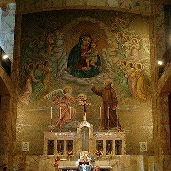 Santuario Madonna delle Grazie a San Giovanni Rotondo.