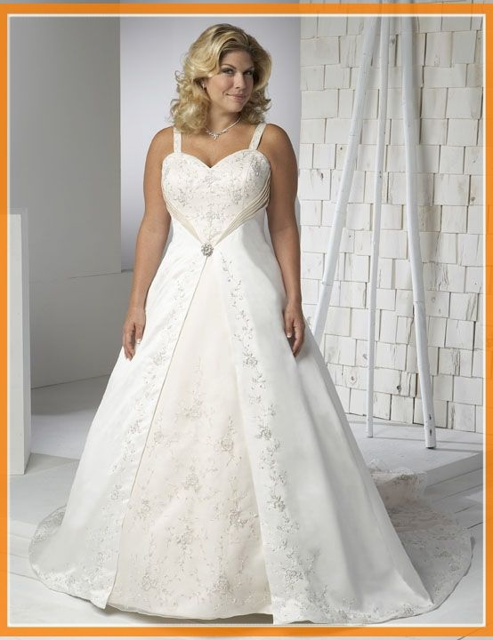 790 best Wedding Dresses- Plus Size images on Pinterest | Wedding ...