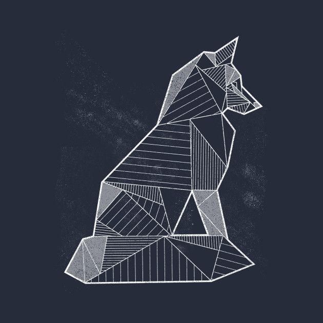 https://www.teepublic.com/t-shirt/403137-geometric-nature-fox