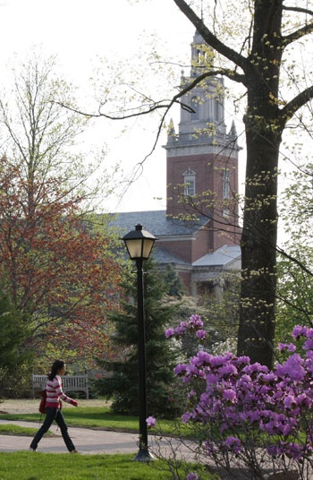 Denison University was home for over 50 years.