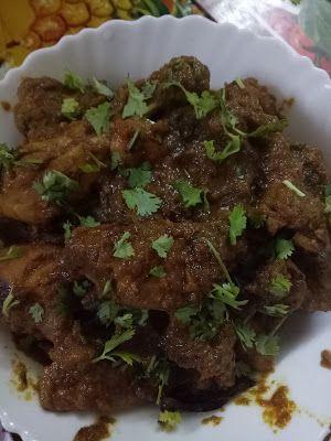 Trisha's Rasoi: Chicken kosha