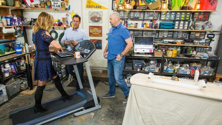 Diy treadmill desk in 2020 treadmill desk desk cool