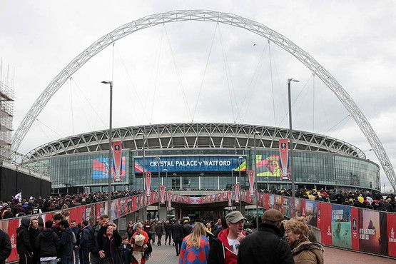 PHOTOS: What a day at Wembley for Crystal Palace as they beat Watford in the FA Cup semi-finals