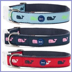 Vineyard Vines by Mascot Preppy Dog Collars at Our Good Dog Spot.com ::