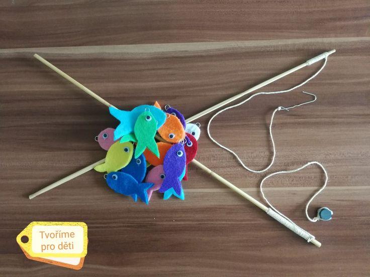 Lov rybiček na magnet