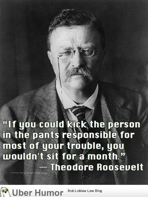A Quote By Theodore Roosevelt  **An Amazing Man**