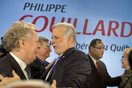 18 mars 2013 - Couillard promet le renouveau du PLQ