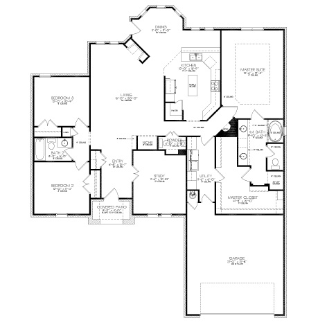Love The Floor Plan Where The Master Closet Leads Into The Laundry Room!  Hate Hauling Dirty Clothes Half Way Across The House.