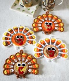 Thanksgiving Crochet Patterns - Starting Chain