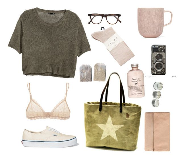 Untitled #14 by nagy-bori on Polyvore featuring polyvore, fashion, style, H&M, Falke, Eberjey, Vans, Cutler and Gross and iittala