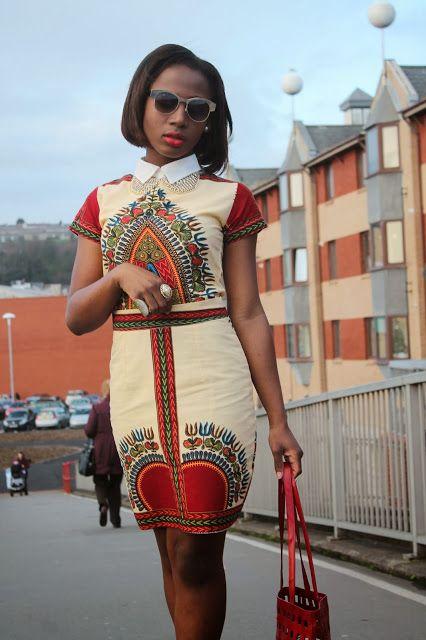 Model Pagne Africain Haut