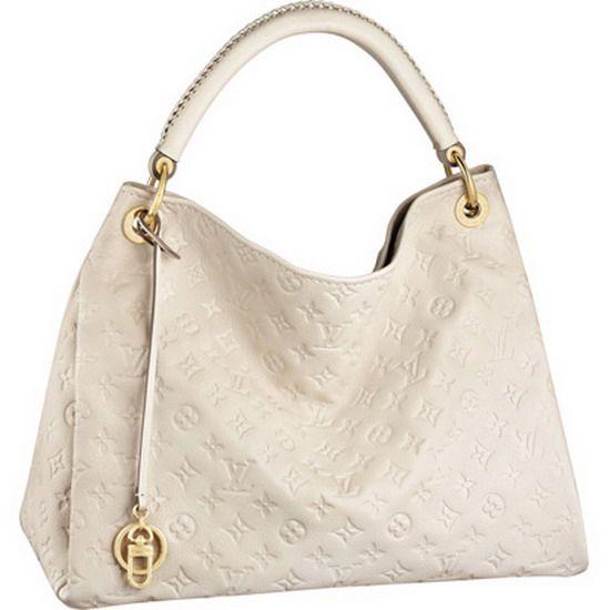 Beige Louis Vuitton Artsy MM M93449 Tote Bags