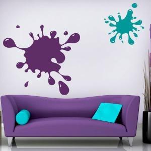 Vinilos Decorativos Colores Splash