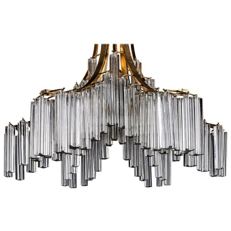Impressive Italian Murano Clear Glass Sculptural Chandelier by Venini | From a unique collection of antique and modern chandeliers and pendants  at https://www.1stdibs.com/furniture/lighting/chandeliers-pendant-lights/