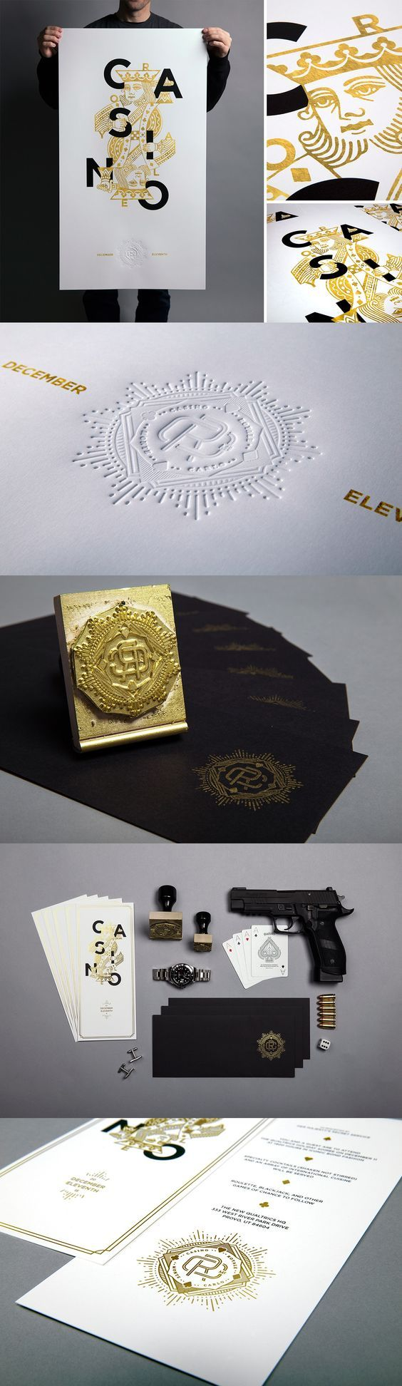 Qualtrics Casino Royale Branding by Stewart West, John Johnson, Garrett Wessman & Jason Johnson