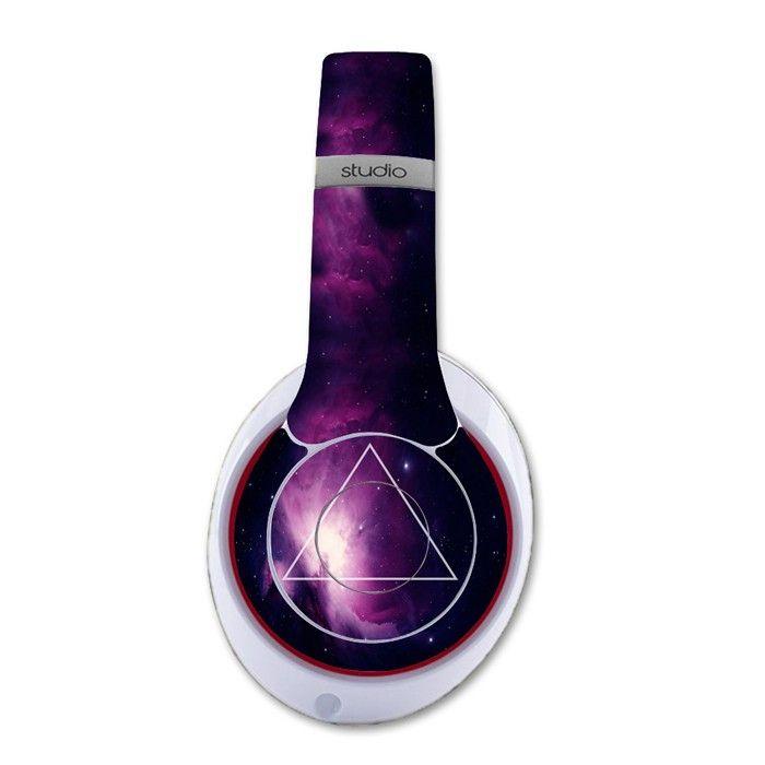 Simple Geometric Shape decal for Monster Beats Studio 2.0 wireless headphones