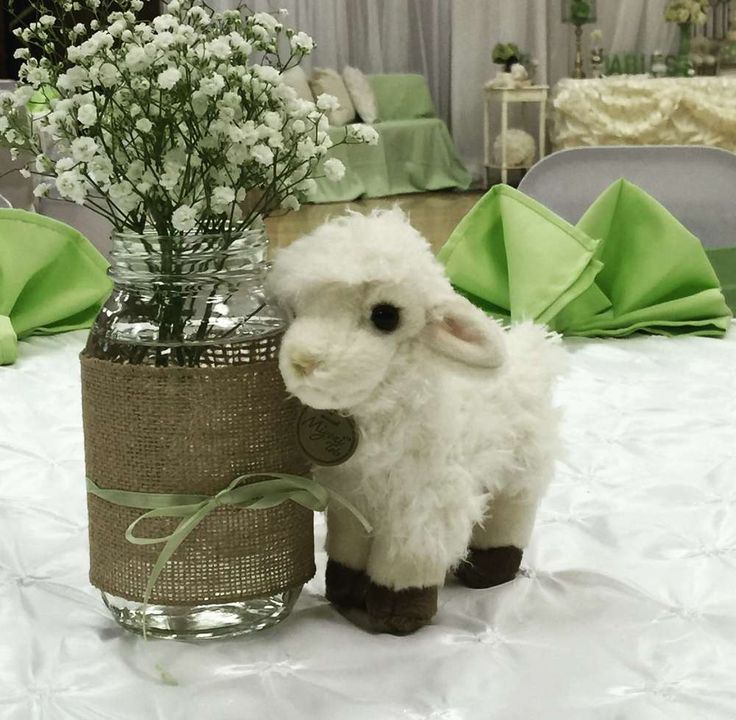Sheep / Lambs Baby Shower Party Ideas | Photo 1 of 16 | Catch My Party