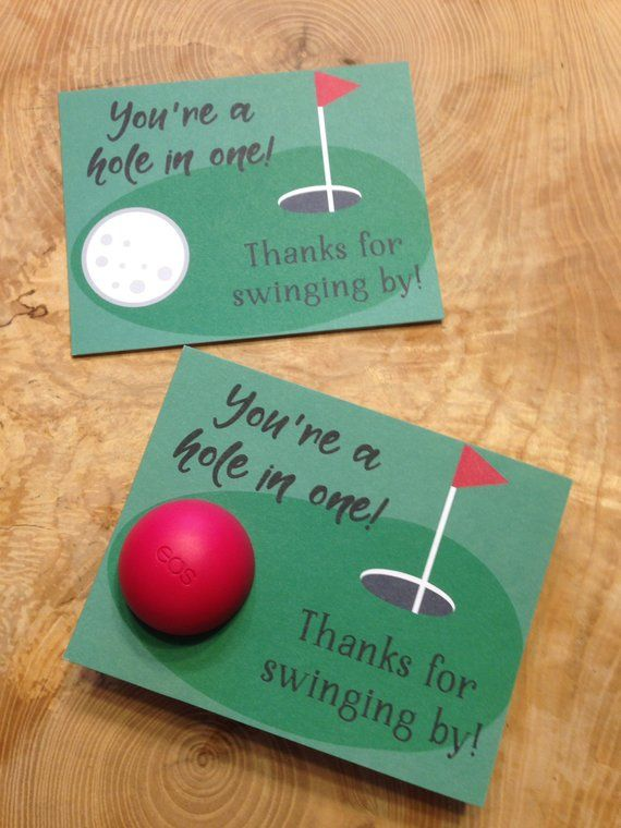 You Re A Hole In One Thanks For Swinging By Golf Baby Etsy Golf Baby Showers Printable Thank You Cards Hole In One