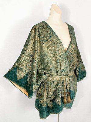 Mariano Fortuny velvet jacket, 1920s