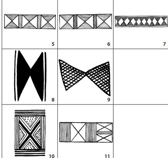 El diseño muisca 10 muestra rasgos del diseño tipo mariposa. El ...