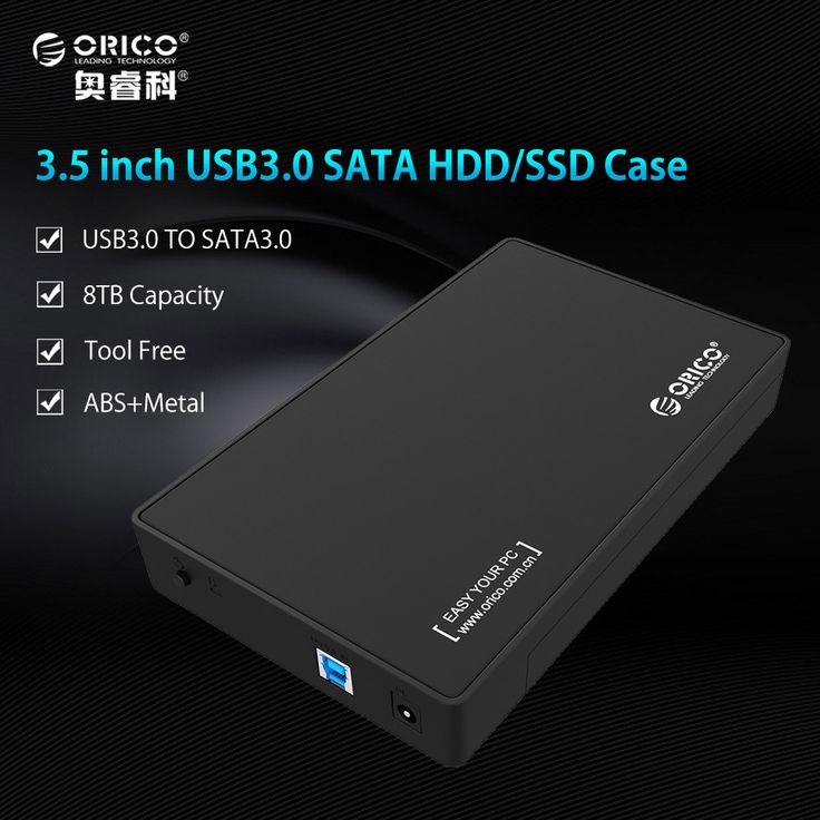 compare prices orico 3588us3 bk 3 5 inch hdd enclosure case usb 3 0 5gbps to sata support uasp and 8tb #plastic #cases