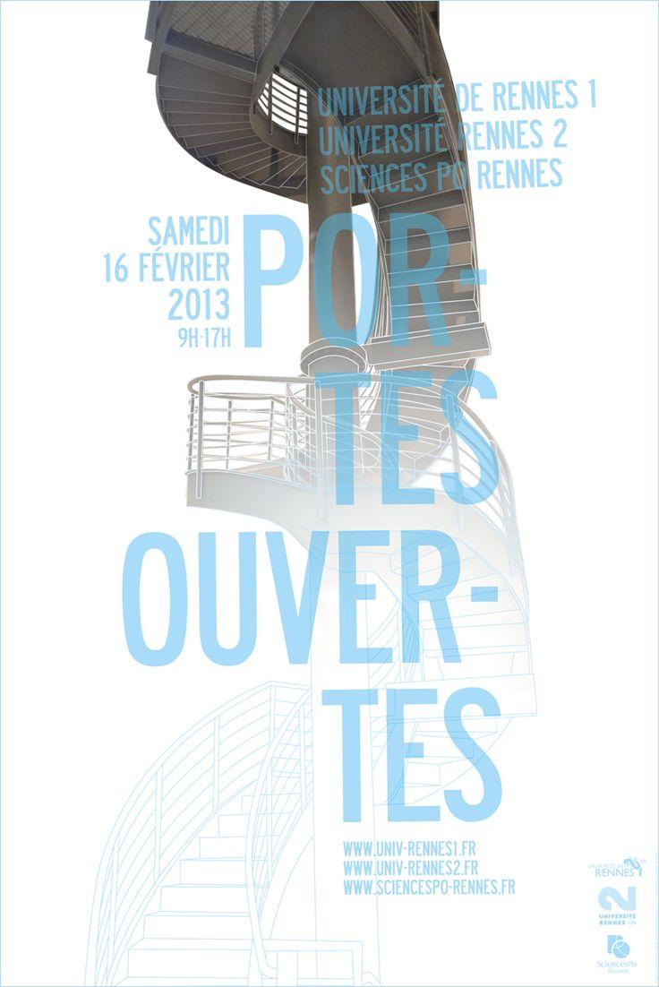 le jardin graphique, visuel Portes ouvertes Universités Rennes