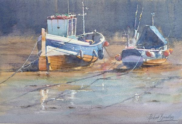 robert brindley paintings | Here are some pictures from the exhibition.