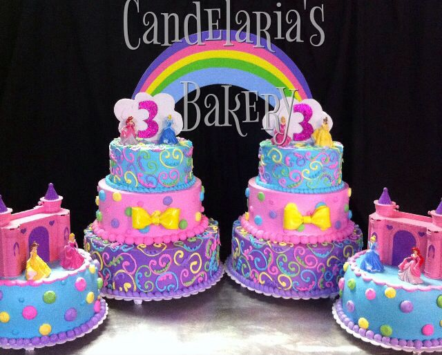 Best Imh St Birthday Party Disney Theme Images On Pinterest - Cakes for princess birthday