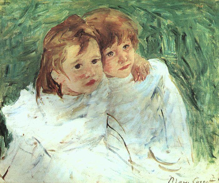 The Sisters by @m_cassatt #impressionism