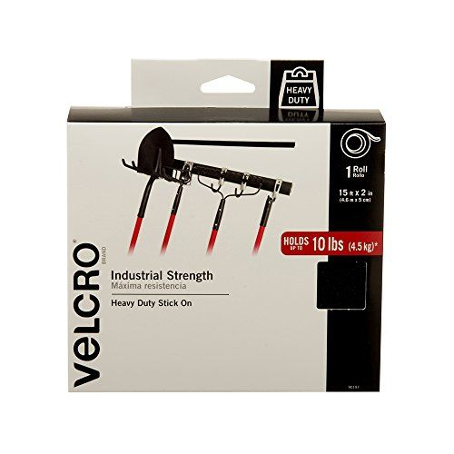 VELCRO Brand  Industrial Strength  2 x 15  Black ** Want additional info? Click on the image. Note: It's an affiliate link to Amazon