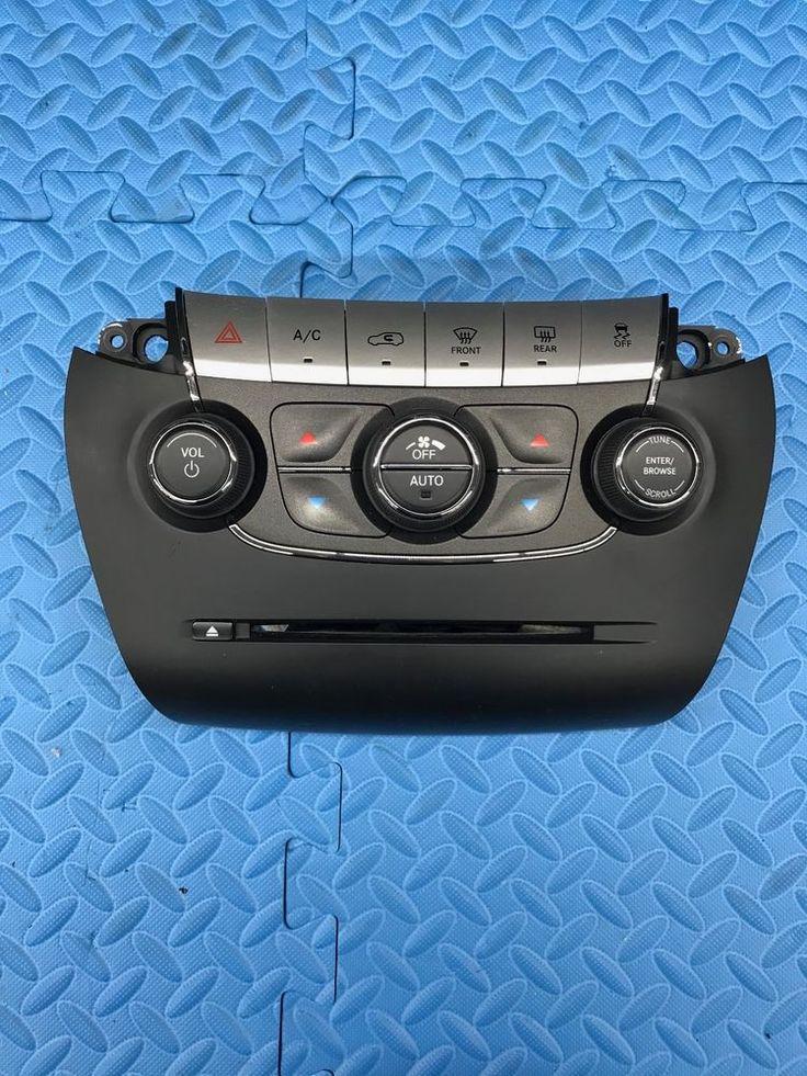 Mopar Dodge Journey Rado CD AC Heat Fan Defrost Climate Control Stack 1WX111X9AA #Mopar