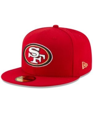 New Era San Francisco 49ers Team Basic 59FIFTY Fitted Cap - Red 8