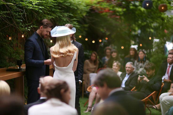 """Gigi Burris and Evan O'Hara's Quintessentially """"Downtown"""" New York City Wedding"""