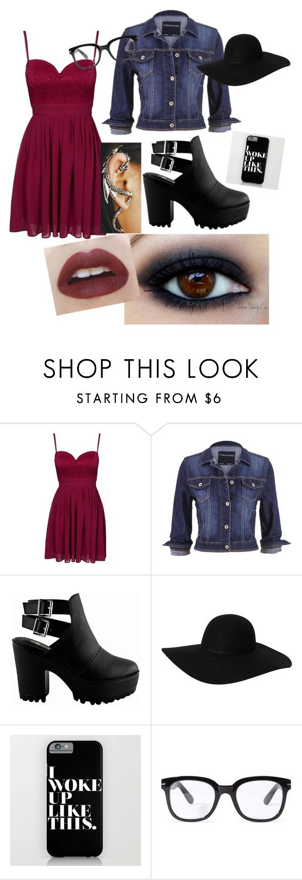 """""""High school party!!!!!!!!!"""" by beauty-jiji ❤ liked on Polyvore featuring Elise Ryan, maurices, Monki, Forever 21, Haze and CO"""