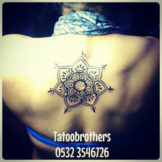 Mandala dövmesi - mandala tattoo by tattoobrothers. Randevu ve fiyat bilgisi için GSM: 05323546726