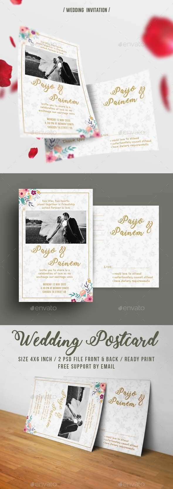 free wedding invitation psd%0A Wedding Invitation