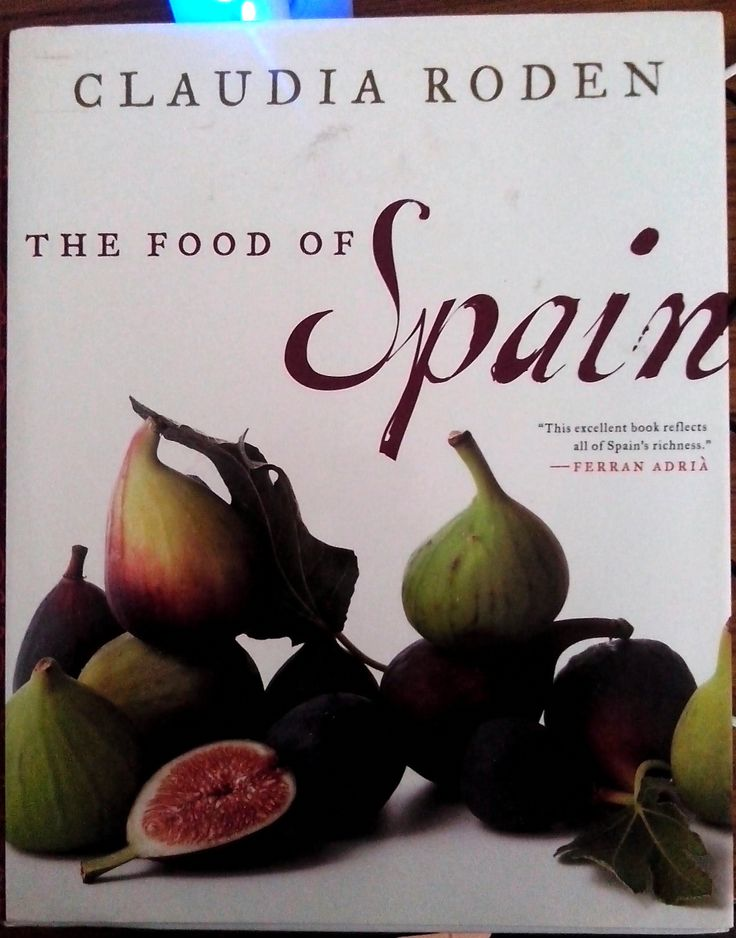 [books] The Food of Spain by Claudia Roden