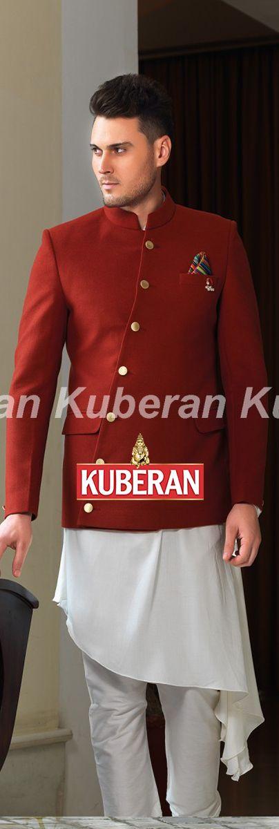 Maroon Designer Suit #designersuits #weddingsuits #mensdesignersuits #mensfashion #style #fashion #indianwear #luxury #onlineshopping #kuberan