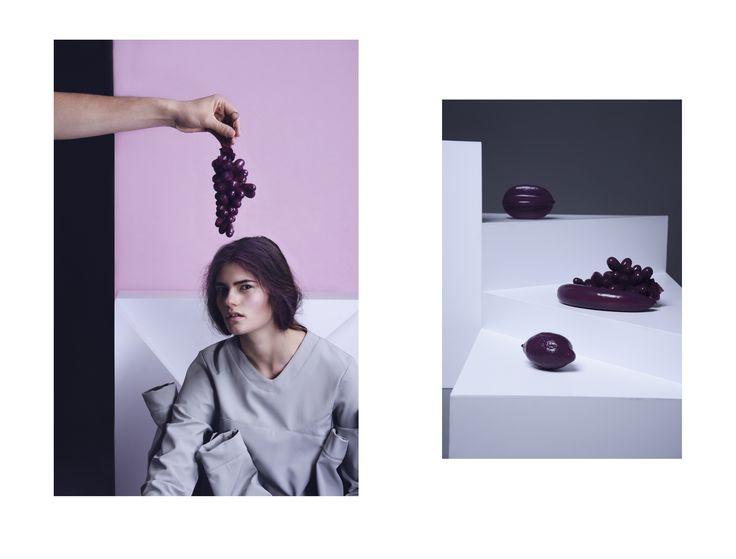 Bori Biro pullover - Fruit's Line, editorial, fashion, minimal, photo Peruzzi Boglár