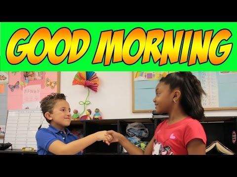 ▶ Good Morning - Good Morning Song for Circle Time - Children's Songs by The Learning Station - YouTube