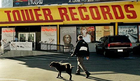TOWER RECORDS - a favorite stop in San Francisco when we were in college. (Now it's a CVS pharmacy)