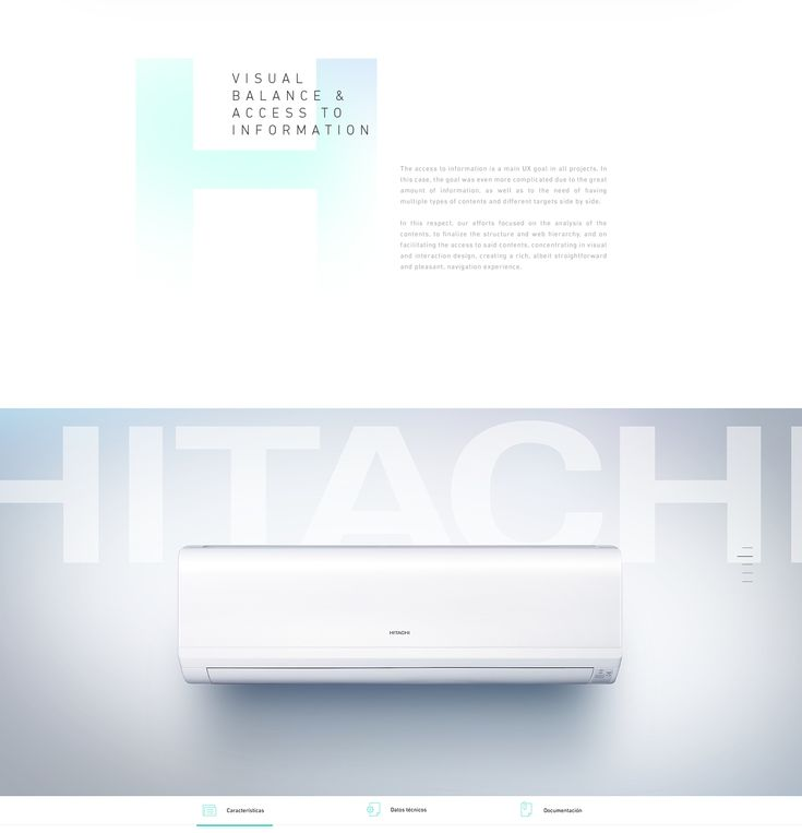 Hitachi Corporate Website on Behance