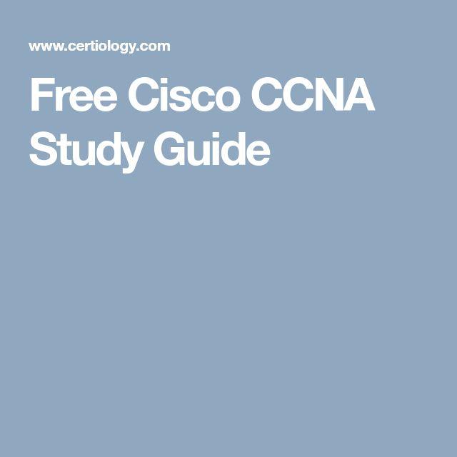 Free Cisco CCNA Study Guide